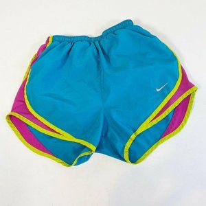 Nike Tempo Running Shorts XS Blue Pink Dri-Fit Act